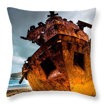 Far From Home Throw Pillow by Edgar Laureano