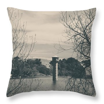 Far From Me Throw Pillow by Laurie Search