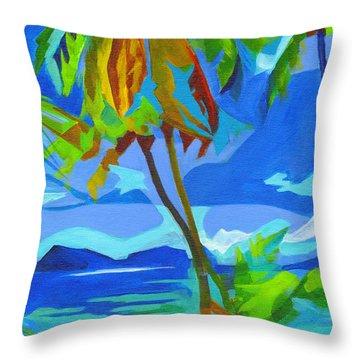 Dream Islands. Maui Throw Pillow