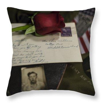 Farewell  Throw Pillow by Amber Kresge