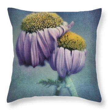 Farewell Throw Pillow by Priska Wettstein