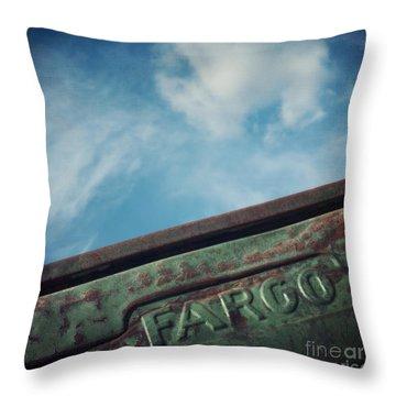 Fargo Throw Pillow by Priska Wettstein