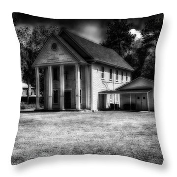 Fargo United Methodist Church Throw Pillow