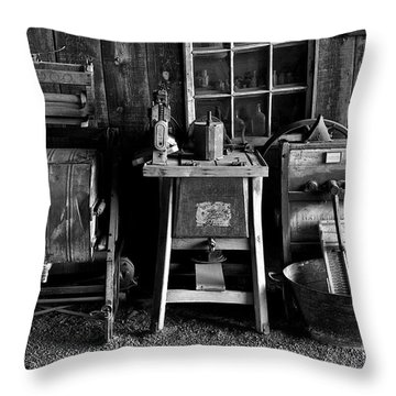 Farm Antiques Throw Pillow