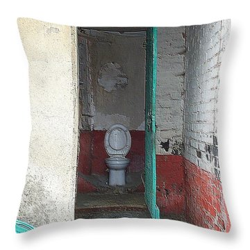 Farm Facilities Throw Pillow