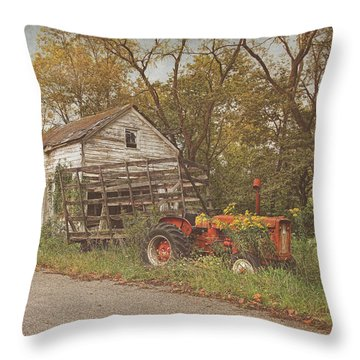 Farm Still Life Throw Pillow