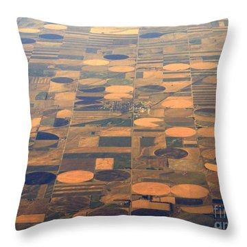 Farming In The Sky 2 Throw Pillow