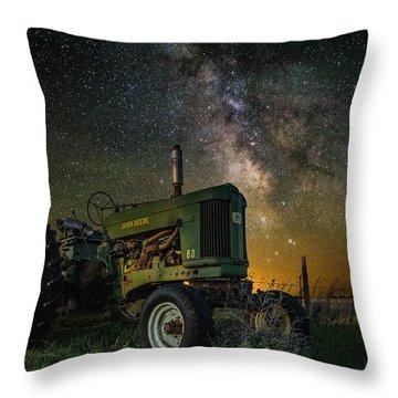 Farming The Rift 3 Throw Pillow