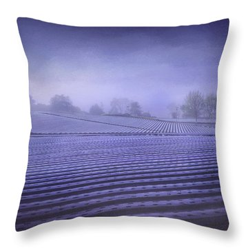 Farmland 2 Throw Pillow