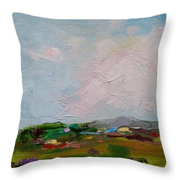 Farmland IIi Throw Pillow
