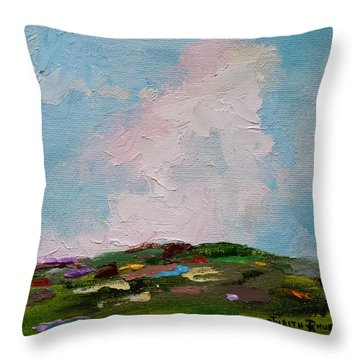 Farmland Iv Throw Pillow