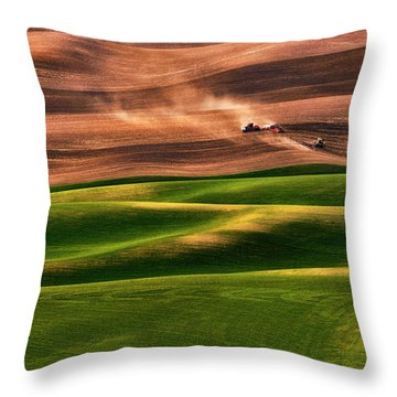 Agriculture Throw Pillows