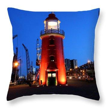 Faro Museo De Rotterdam Holland Throw Pillow