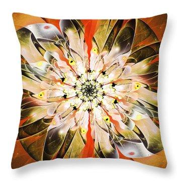 Fascinating Throw Pillow by Anastasiya Malakhova