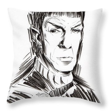 Fascinating II Throw Pillow