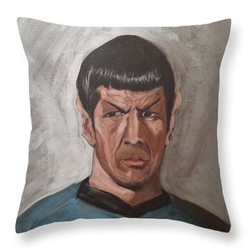 Fascinating Throw Pillow