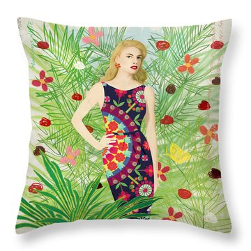 Fashion And Art - Limited Edition 1 Of 10 Throw Pillow