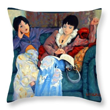 Fashion Police Throw Pillow