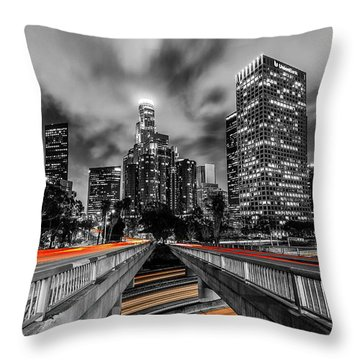 Fast And The Furious Throw Pillow by Tassanee Angiolillo
