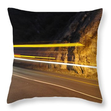 Fast Car Throw Pillow by Gandz Photography