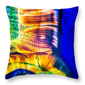 Throw Pillow featuring the photograph Fast Friends by Omaste Witkowski