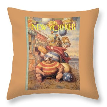 New Yorker September 6th, 1993 Throw Pillow