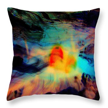 Fatal Attraction Throw Pillow by Shirley Sirois