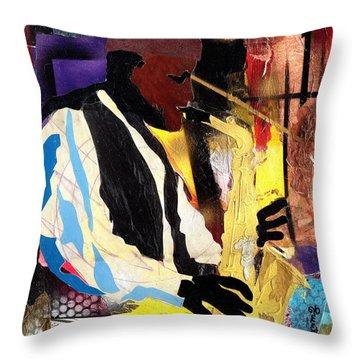Fathead Newman Throw Pillow