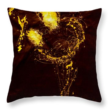Father And Child Throw Pillow