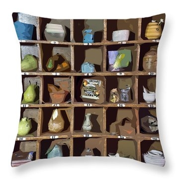 Favorite Things 2 Throw Pillow by Patrick M Lynch
