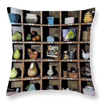 Favorite Things 3 Throw Pillow by Patrick M Lynch