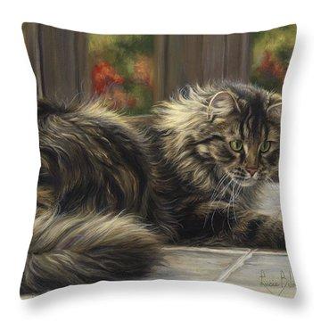 Favorite Toy Throw Pillow