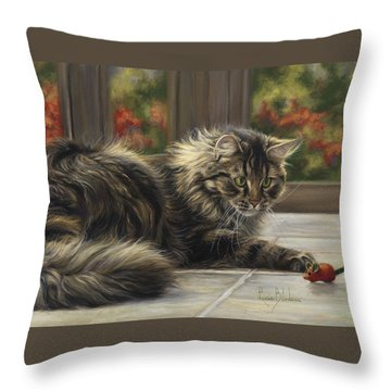 Favorite Toy Throw Pillow