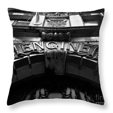 Fdny - Engine 55 Throw Pillow