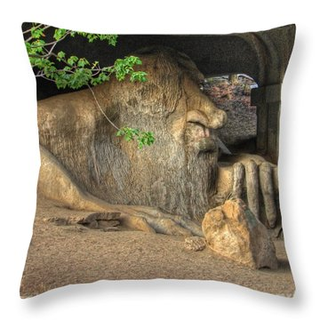 Fe Fi Fo Fum ... Throw Pillow
