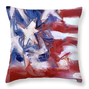 Fear Of The Neighbor Throw Pillow