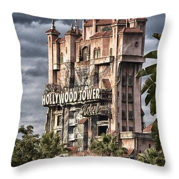 Fear Tower Throw Pillow