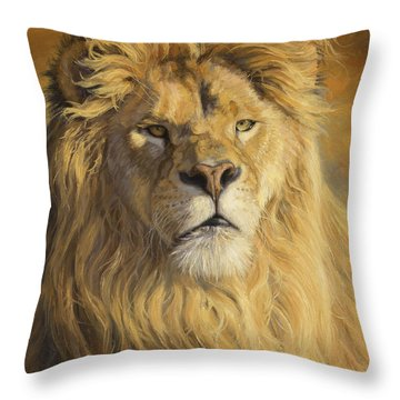 Lions Throw Pillows