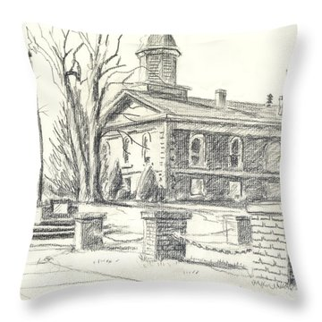 February Morning  No Ctc102 Throw Pillow