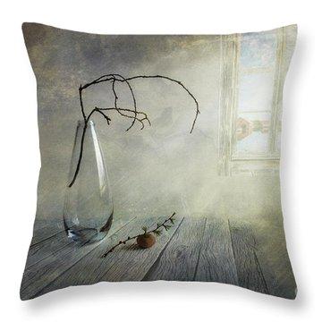 Feel A Little Spring Throw Pillow by Veikko Suikkanen