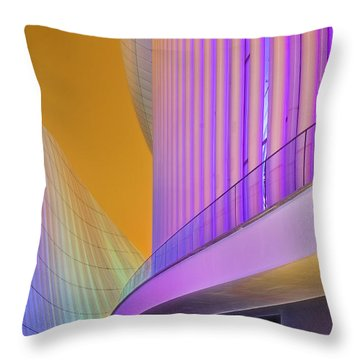 Feel Harmony Throw Pillow by Maciej Markiewicz