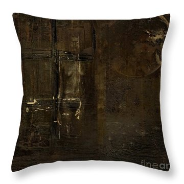 Feeling Invisible Throw Pillow