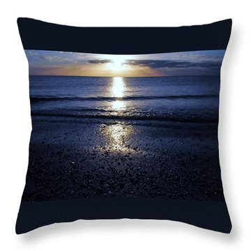 Feeling The Sunset Throw Pillow