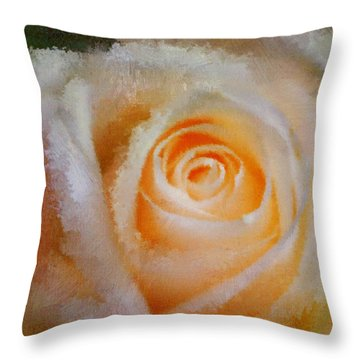 Feelings Of Flowers - Image Art Throw Pillow by Jordan Blackstone