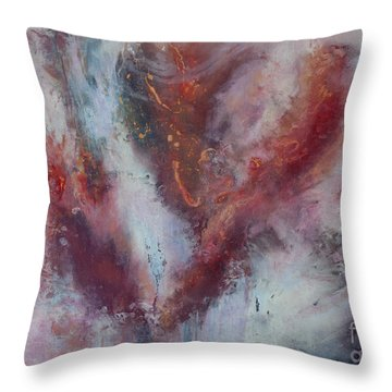 Feelings Of Love Throw Pillow by Valerie Travers