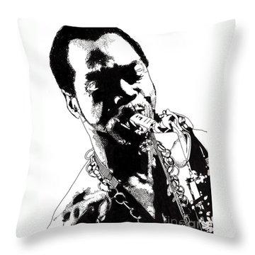 Fela Kuti Throw Pillow