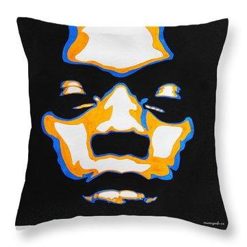 Fela. The First Black President. Throw Pillow