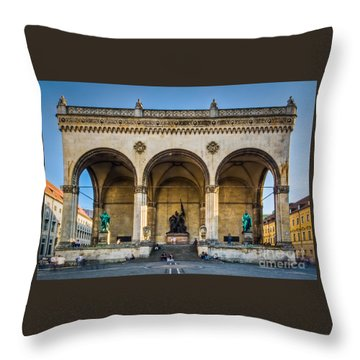 Feldherrnhalle Throw Pillow