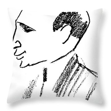 Felix Deutsch (1884-1964) Throw Pillow