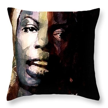 Felling Good  Throw Pillow by Paul Lovering